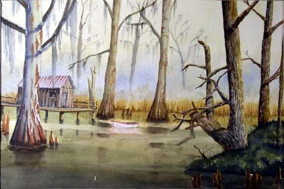 Bayou Fishing Shack